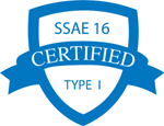 SSAE 16 Certified Type